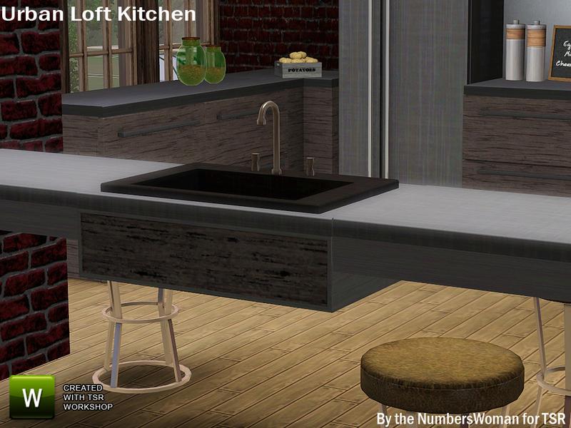 TheNumbersWoman\'s Modern Urban Rustic Loft Kitchen Sink