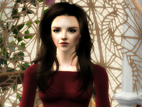 Sims 2 — Nina by sirok2 — This is my version of Nina Dobrev. I\'ve been looking for realistic model long time and didn\'t