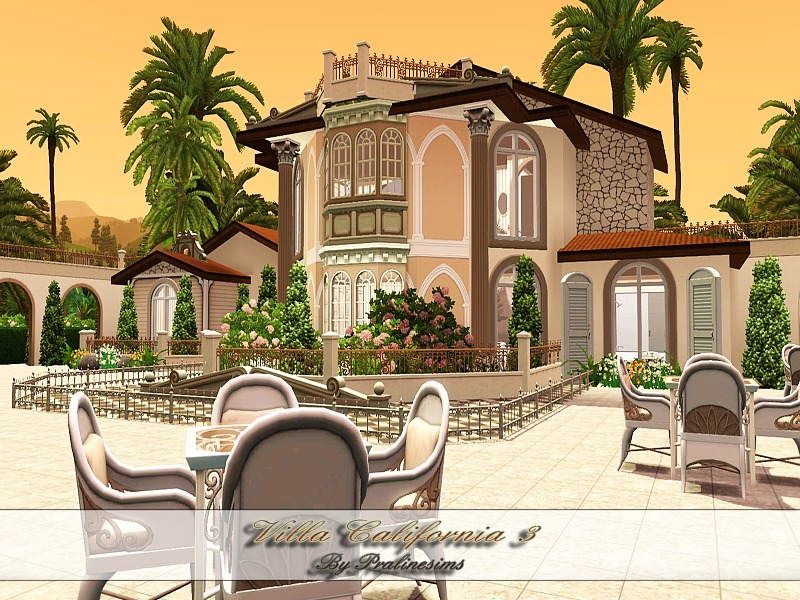 Pralinesims 39 villa california iii for Villas california