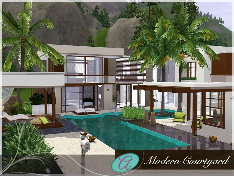 Remarkable Modern Houses Sims 3 Download Gallery - Simple Design ...