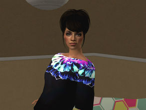 Sims 2 — Freema by sirok2 — I was asked to make Freema Agyeman (actrees from Doctor Who). So here she is. She looks