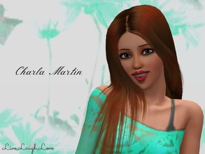 Sims 3 — Charla Martin by LiveLaughLove4 — Charla Martin is a rising athlete who wants to become a super star athlete,