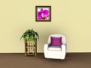 Sims 3 — Purple Orchid Painting by Jenn_Simtopia — Lovely Purple Orchid Painting. Frame comes in three options and is