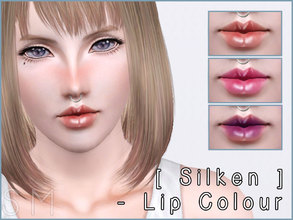 Sims 3 — [ Silken ] - Lip Colour by Screaming_Mustard — A silken textured lip colour for your female Sims to enjoy.