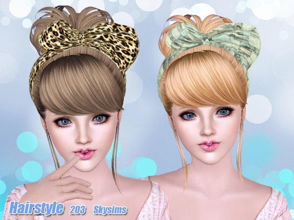 Skysims Hair Adult 203sims3pack Fryzury The Sims 3