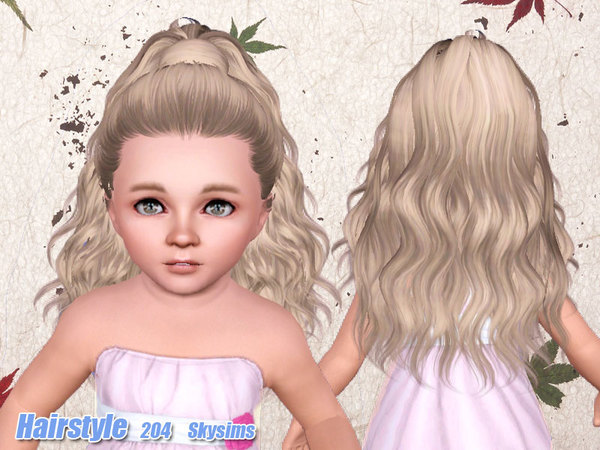 Genetika Vlasy Our The Sims 3 4
