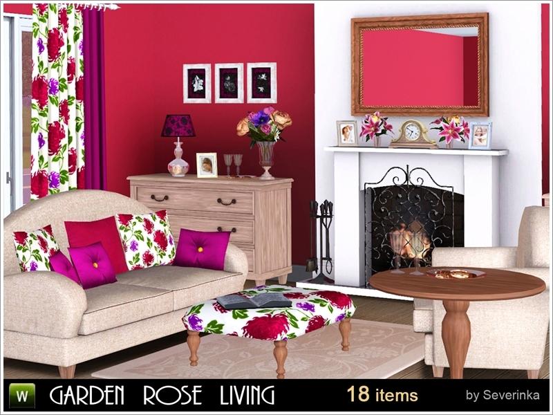 Severinka_\'s Garden Rose Living