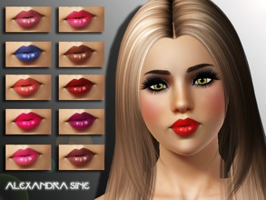 Sims 3 — Charm Gloss by Alexandra_Sine — Charm Gloss for your sims to enjoy, I hope you like it :) -Female and Male sims