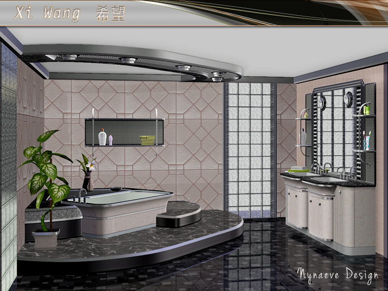 Nynaevedesign S Xi Wang Bathroom