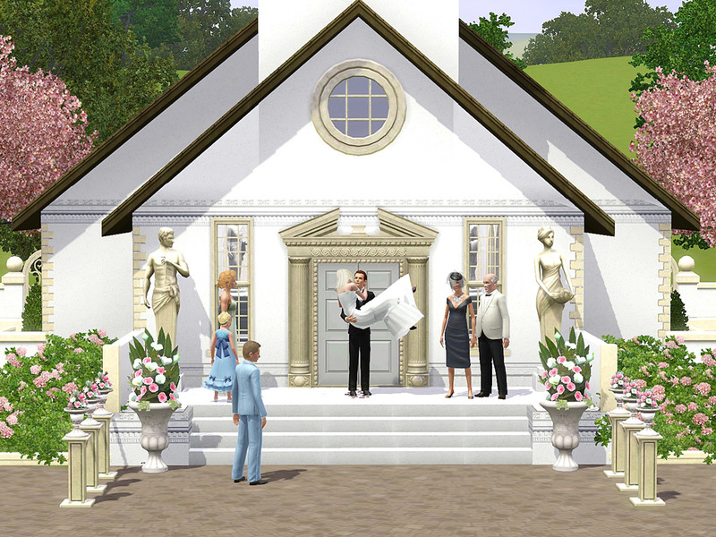 Wimmie's Romantic Wedding Church