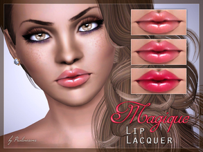 Sims 3 — Magique Lip Lacquer by Pralinesims — New realistic lipstick for your sims! Your sims will love their new look ;)