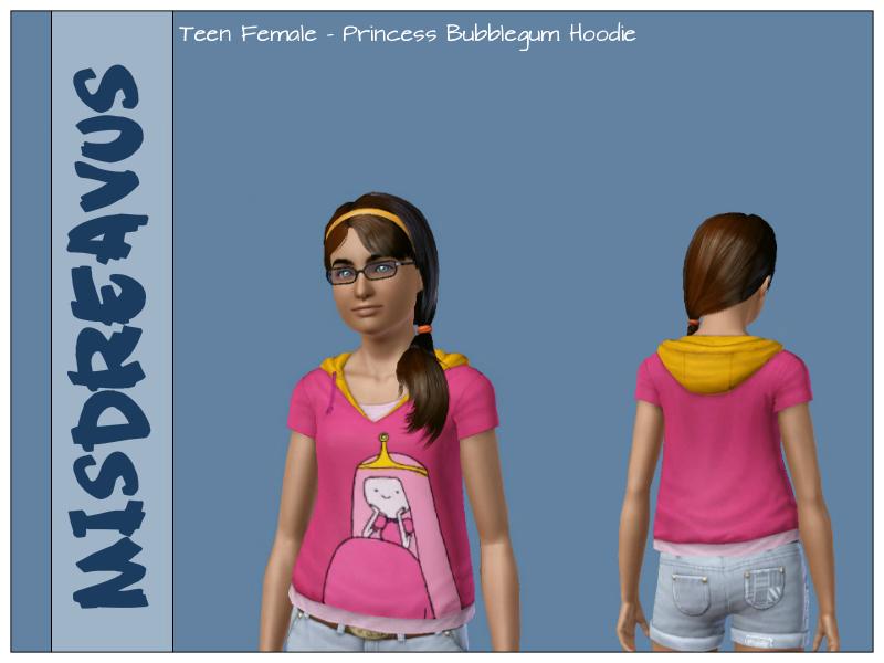 Princess Bubblegum Hoodie