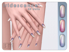 Iridescence Nails