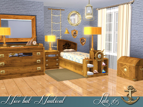 Sims 3 — Nice but Nautical Boys Room by Lulu265 — With this set you can make your kids very happy and change their room