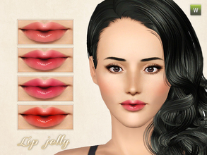 Sims 3 — Lip jelly by CherryBerrySim — Beautiful frutiy and shiny lip jelly for female sims. Teen to Elder. Recolorable.