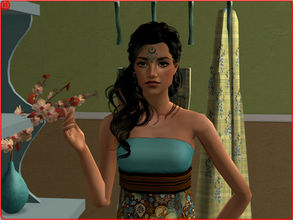 Sims 2 — Ria by sirok2 — This is nice girl from India. Her name is Ria. Take care about her.