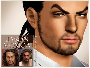 Sims 3 — Jason Momoa by Pralinesims — Jason Momoa, the talented actor from Game Of Thrones (Khal Drogo), now as a sim!