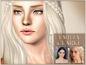 Sims 3 — Emilia Clarke by Pralinesims — Emilia Clarke, the talented actress from Game Of Thrones (Daenerys Targaryen),
