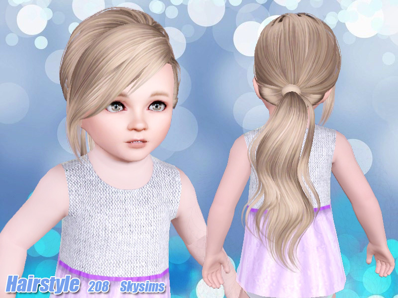Skysims Hair Toddler 208 K
