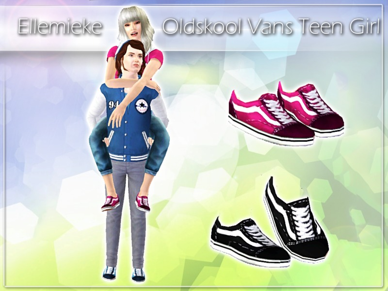 d8ba4fbd9bfe68 Ellemieke s Oldskool Vans for Teen Girls