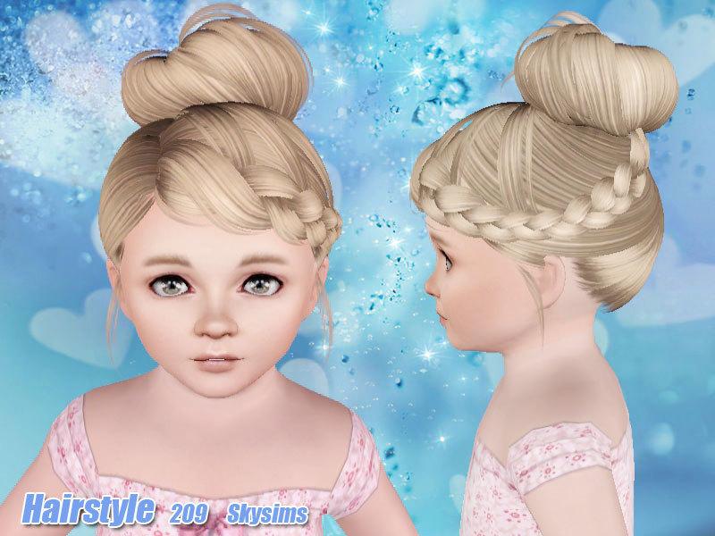 Skysims Hair Toddler 209 I