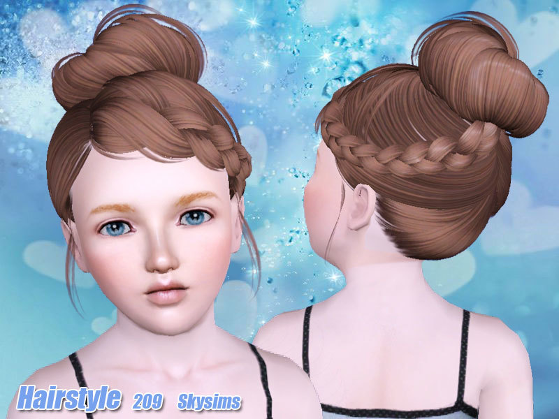 haircut free skysims hair child 209 i 2440