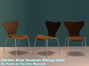 Sims 2 — Harlem II - Dining Chair by Padre — More Mid Century style items for your cool mid-century sims