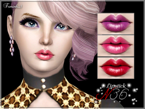 Sims 3 — Lipstick N36 by TsminhSims — Beautiful lipstick for your Sims. - Three recolor chanels - For all genders, from