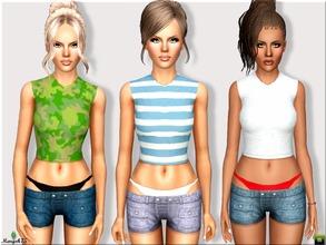 Sims 3 Clothing - 'thong'