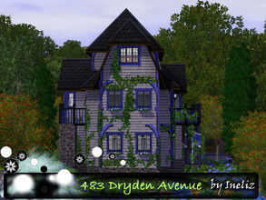 Sims 3 — 483 Dryden Avenue by Ineliz — The house on 483 Dryden Avenue is ideal for a household, which seeks for a perfect