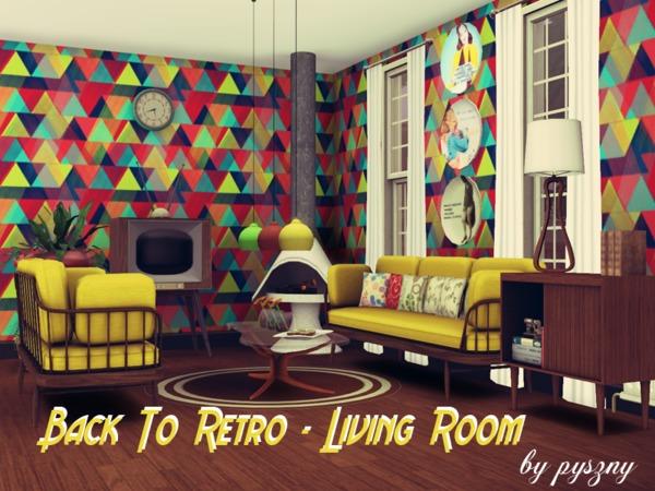 pyszny16 39 s back to retro living room. Black Bedroom Furniture Sets. Home Design Ideas