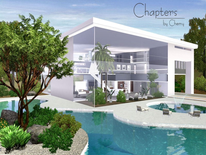 Chemy 39 s chapters modern for Pool design sims 3