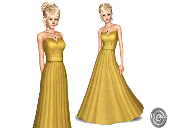 Pizazz's Evening Gown YA