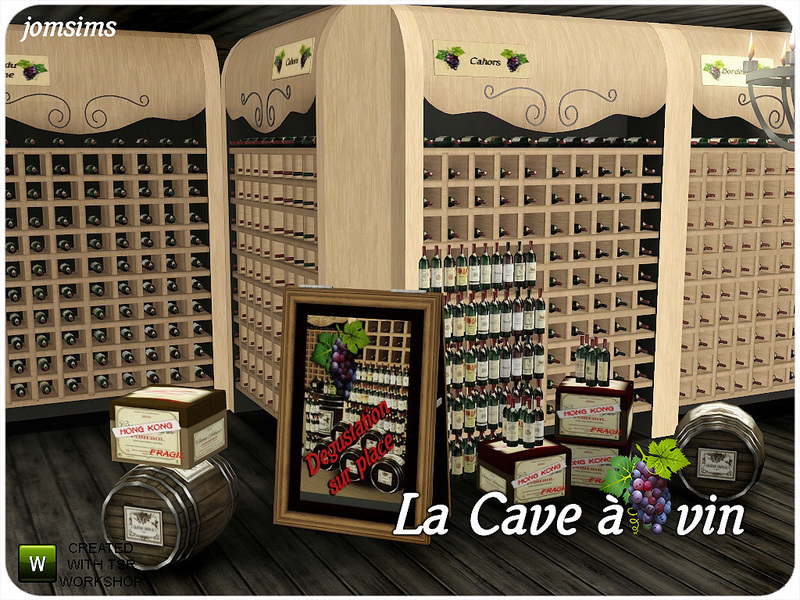 jomsims\' La cave a vin (The wine cellar).