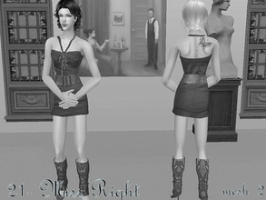 Sims 2 —  Mesh Serasims Peglegssmallpullover Alshoes  by Well_sims — Mesh for you :))