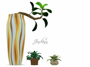 Sims 3 — three plants by Jindann — Add your decor collection with these simply plants but beatiful effect given fot your