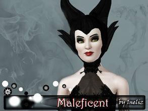 Sims 3 — Maleficent by Ineliz — Every magical story has its own villain. Maleficent of one of the most famous evil
