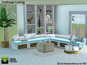 Summer Fun Sims 3 Living Room Sets