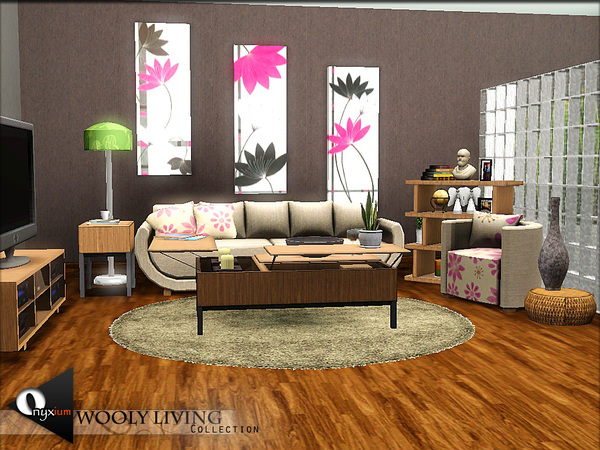 sims 3 living room sets onyxium s wooly living 21221