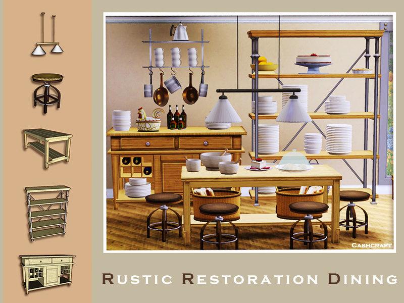 Cashcrafts Rustic Restoration Dining