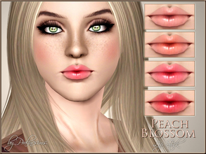 Sims 3 — Peach Blossom Lip Stick by Pralinesims — New realistic lipstick for your sims! Your sims will love their new