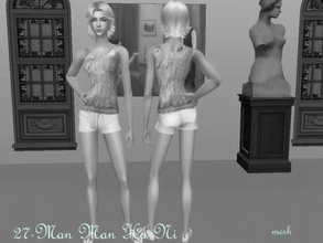 Sims 2 — Mesh Serasims Minishorts 210506 by Well_sims — Mesh for you. :))