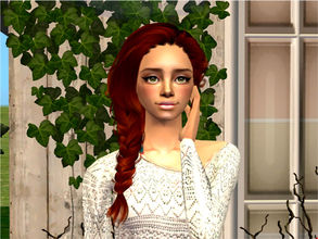 Sims 2 — Silvia by sirok2 — She left home and went to the little town. Here she found true love and got married with him
