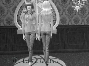 Sims 2 —  Meshelauafbodypeglegpants by Well_sims — Mesh for you :))
