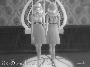 Sims 2 — Mesh Sccg06 Fababydollpreeptoeheels 120206 by Well_sims — Mesh for you.