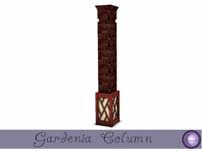 Sims 3 — Gardenia Column I by D2Diamond — Created out of necessity when the Diamond Design Studio was under pressure from