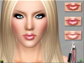 Sims 3 — Plump Fusion Gloss by TSR Archive — -a plump effect moisture lipgloss with fabulous shine -adjust shine feature