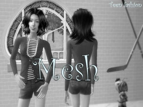 Sims 2 —  Mesh Ds Tfshorts by Well_sims — Mesh for you :)
