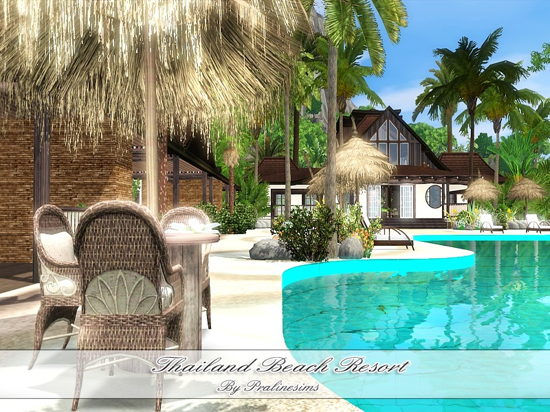 Pralinesims 39 thailand beach resort for Beach house 3 free download
