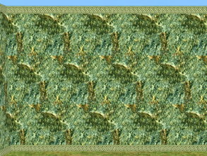Sims 2 — Watching Marble Wall Set - Meesha-watchwmseafoam by zaligelover2 — A set of masonry.
